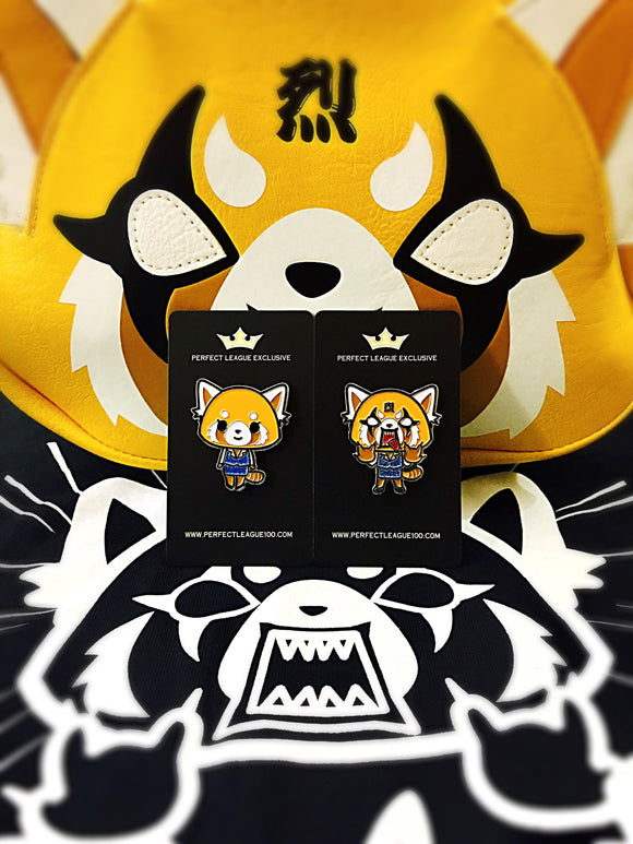 Aggretsuko Pin