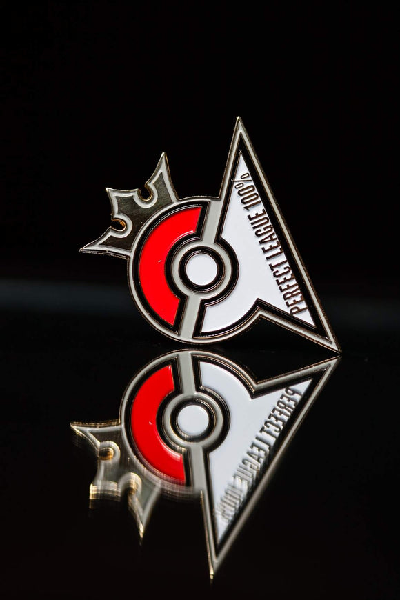 Perfect League Pokeball Exclusive Pin