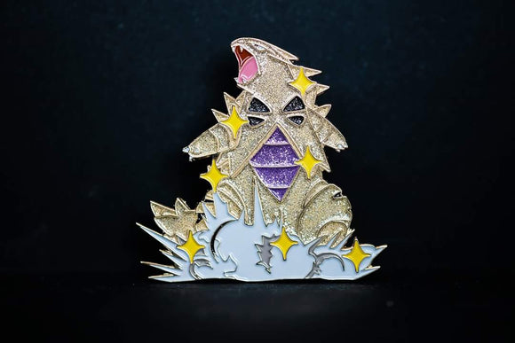 Shiny Tyranitar Pin