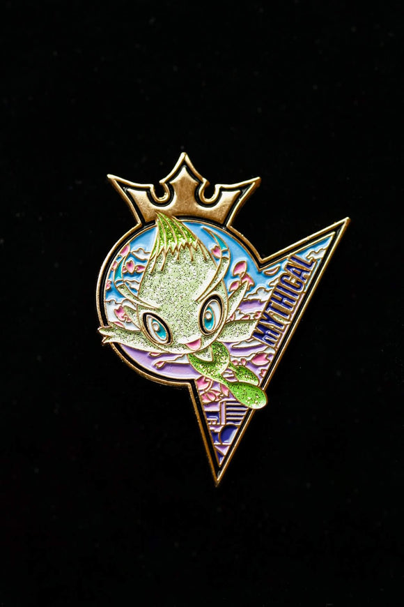 Mythical Celebi Pin