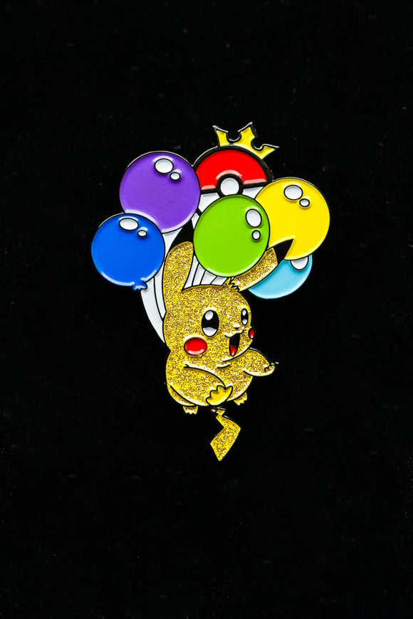 Flying Pikachu Pin
