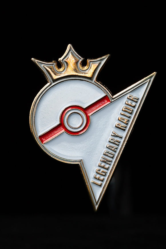 Legendary Raider Pokemon Go Pin