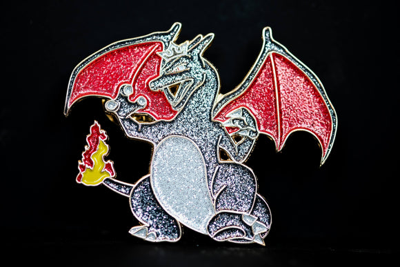 Shiny Charizard Pin