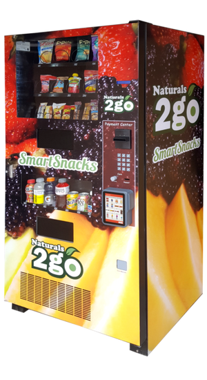 Compact Combination Vending Machine | Seaga N2G 4000