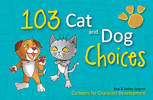 Cartoon Book - 103 Cat and Dog Choices