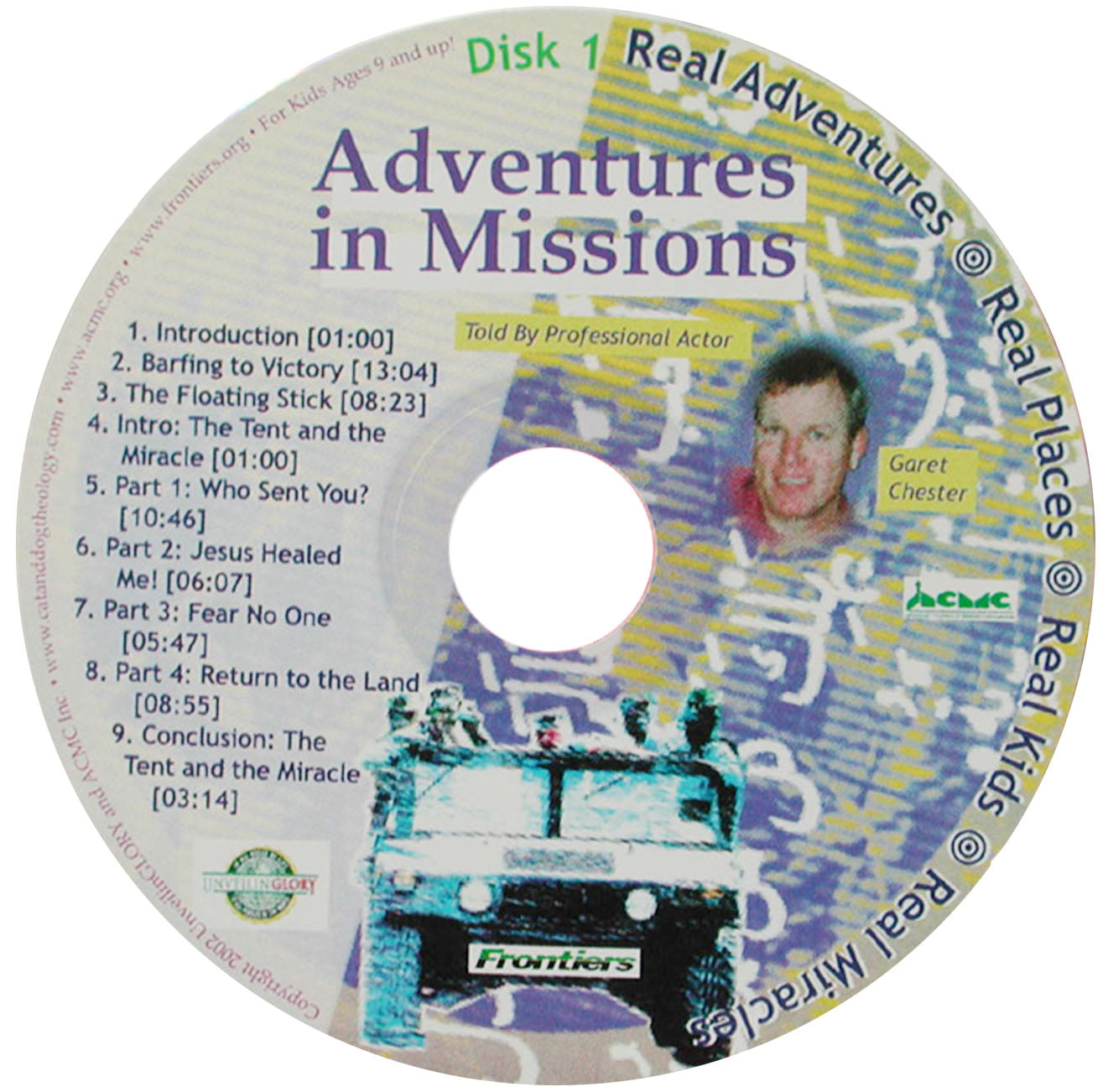 Adventures in Missions CD