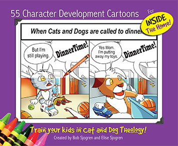 55 Character Development Cartoons (for Inside the Home)