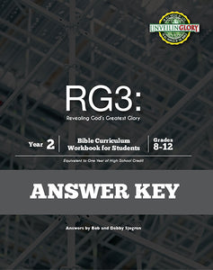 Homeschool Curriculum: High School Year 2-RG3 (Answer Key only)