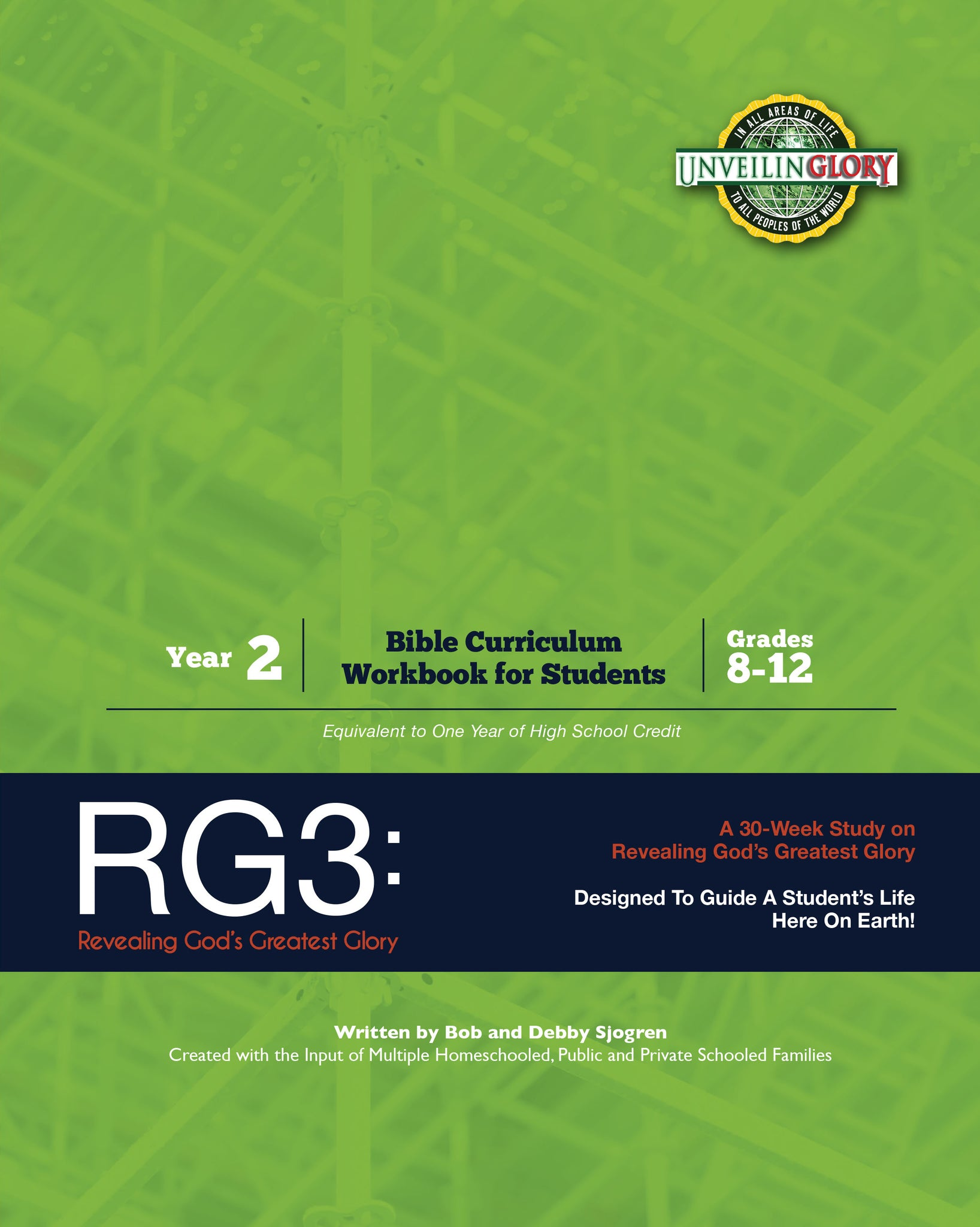 Homeschool Curriculum: High School Year 2-RG3 (Workbook only)
