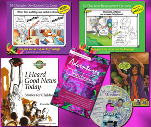 Homeschool Curriculum: Kindergarten-2nd Grade (Complete Kit)