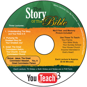 YouTeach3:  The Story of the Bible (PP slides in PDF) - CD