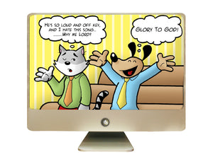 Cat and Dog Cartoon Book Cartoons - Download