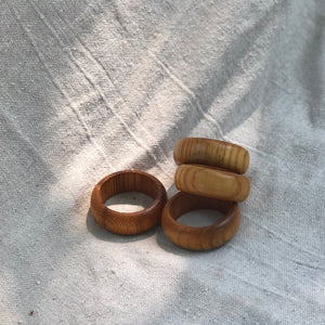 Teakwood Napkin Rings II