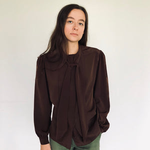 Chocolate Blouse