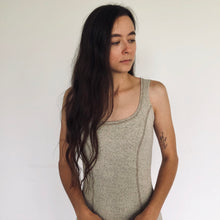 Linen + Cotton Bodycon Dress
