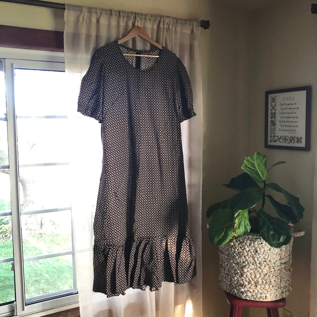 Brown Prairie Dress