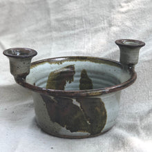 Candlestick Holder + Bowl