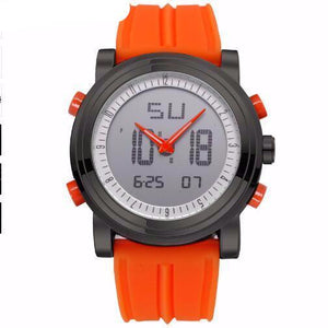 Men's Digital Quartz Sports Watch with Analog & Digital Movement