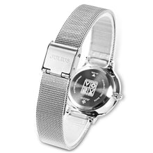 Women's Luxury Watch Stainless Steel with Reliable Quartz Movement