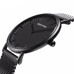 Men's Ultra Very Thin Luxury Quartz Watch