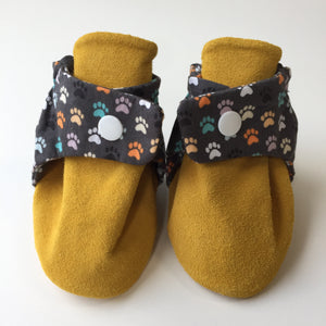 Paw Print Baby Booties