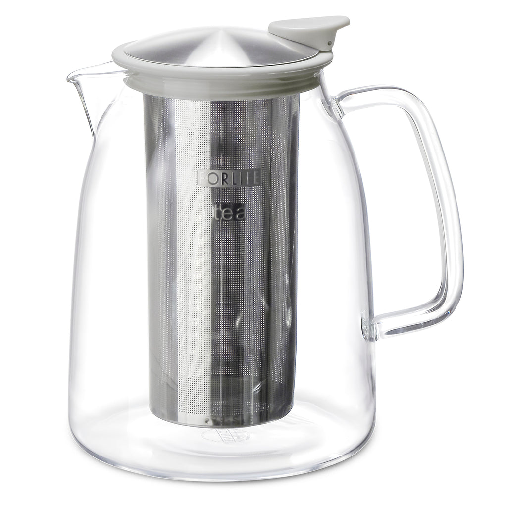 MIST Glass Iced Tea Jug with Basket Infuser