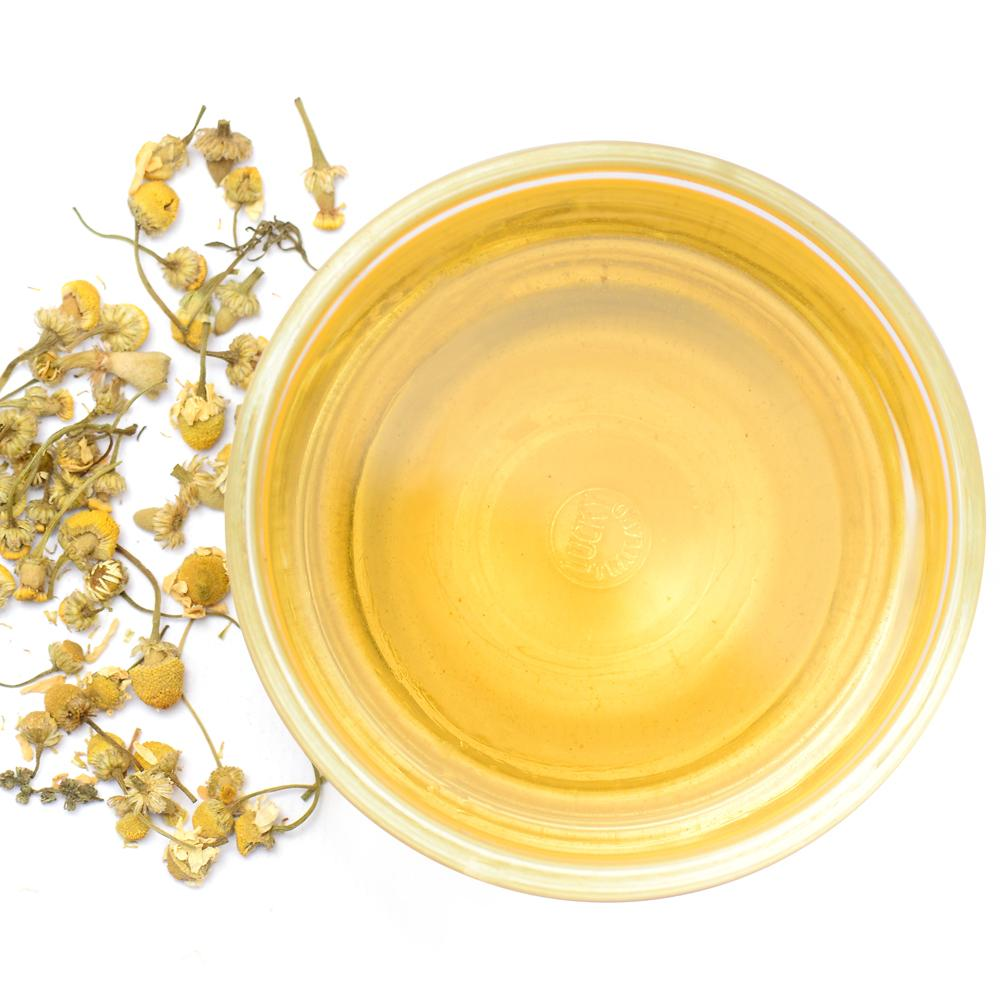 Chamomile Herbal Infusion Full Leaf Tea Loose Leaf Brew