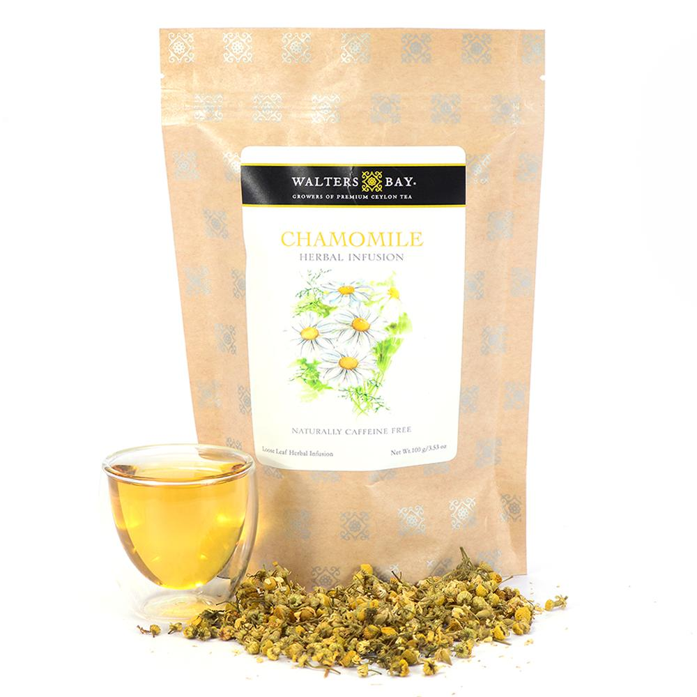 Chamomile Herbal Infusion Full Leaf Tea Loose Leaf Main