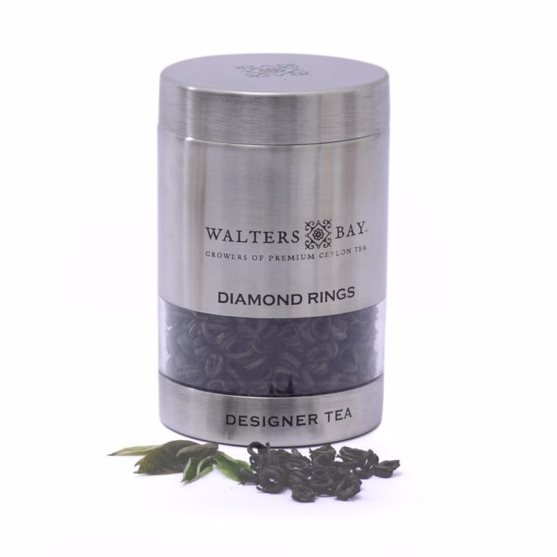 Diamond Rings Ceylon Black Tea Canister