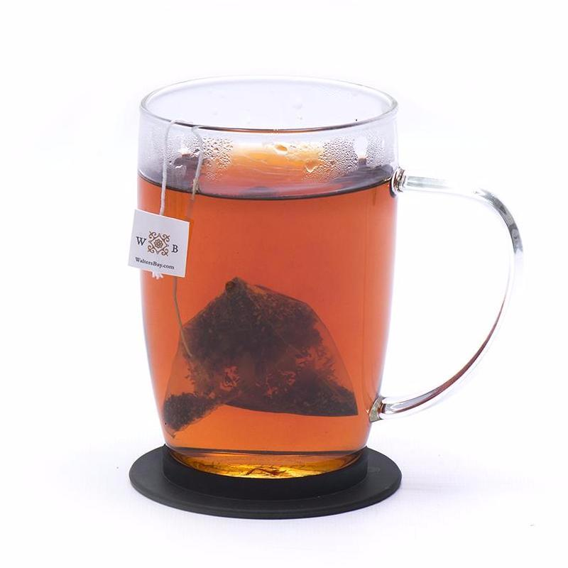 English Breakfast Ceylon Black Tea Full Leaf Tea Bags in Canister Cup Brew with Tea Bag