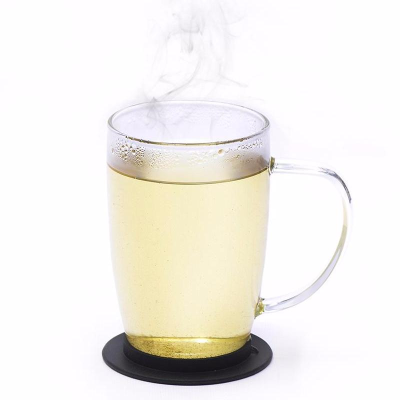 Lavender White Ceylon White Tea Full Leaf Tea Bags in Canister Cup Brew