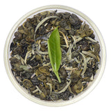 Lavender White Ceylon White Tea Full Leaf Tea Bags in Canister Tin Canister