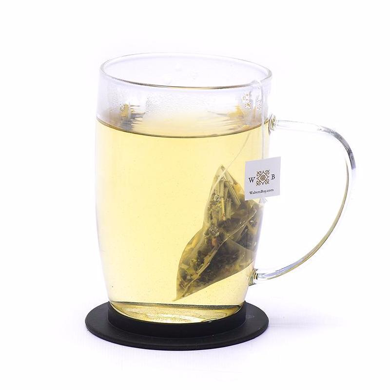Lemongrass Green Ceylon Green Tea Full Leaf Tea Bags in Canister - Walters Bay