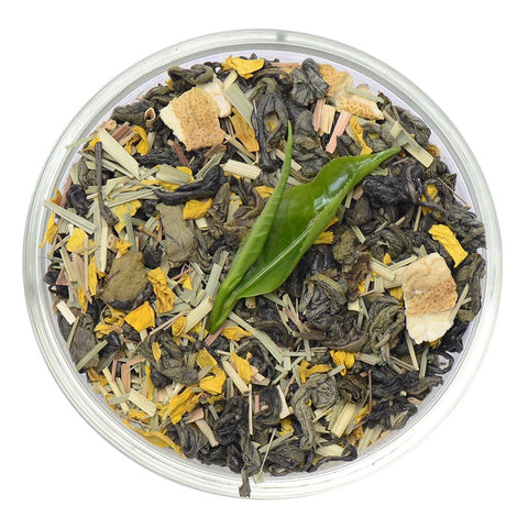 Lemongrass Green Ceylon Green Tea Full Leaf Tea Loose Leaf Tea