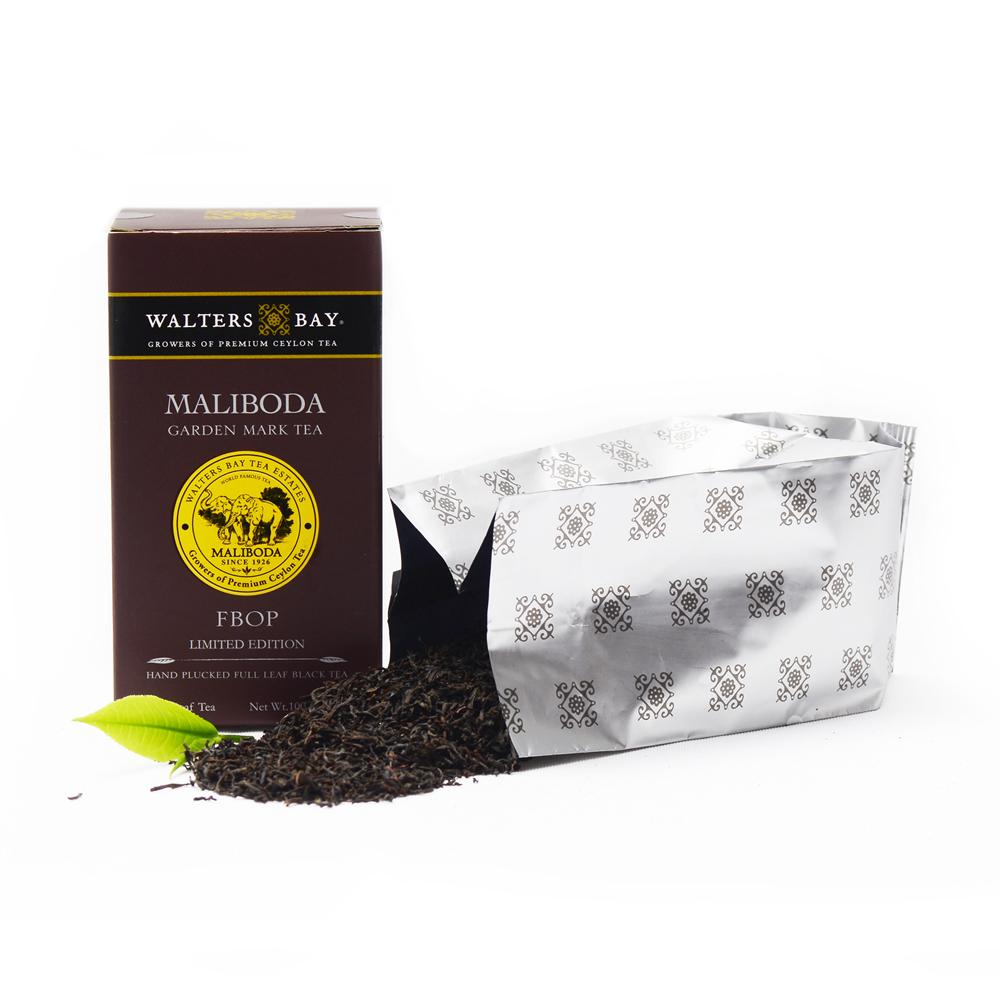 Maliboda FBOP Ceylon Black Tea Loose Leaf Package with Tea