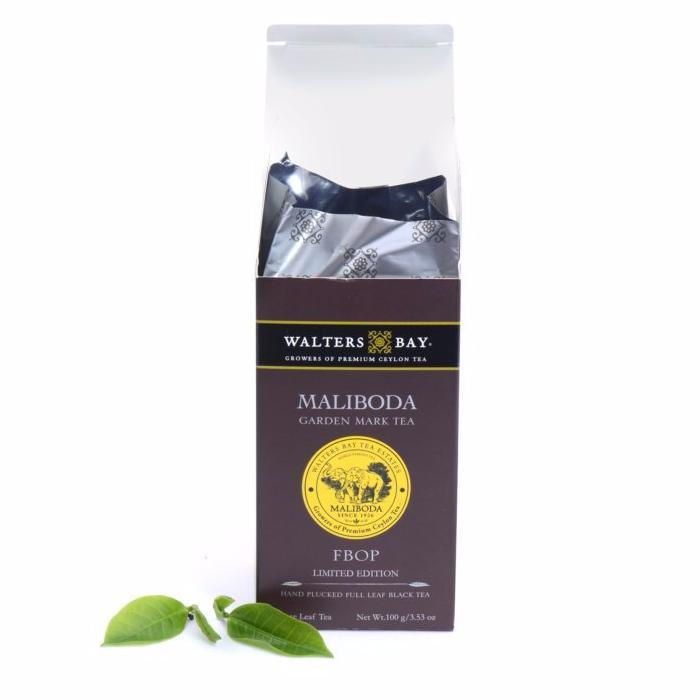 Maliboda FBOP Ceylon Black Tea Loose Leaf Package Open