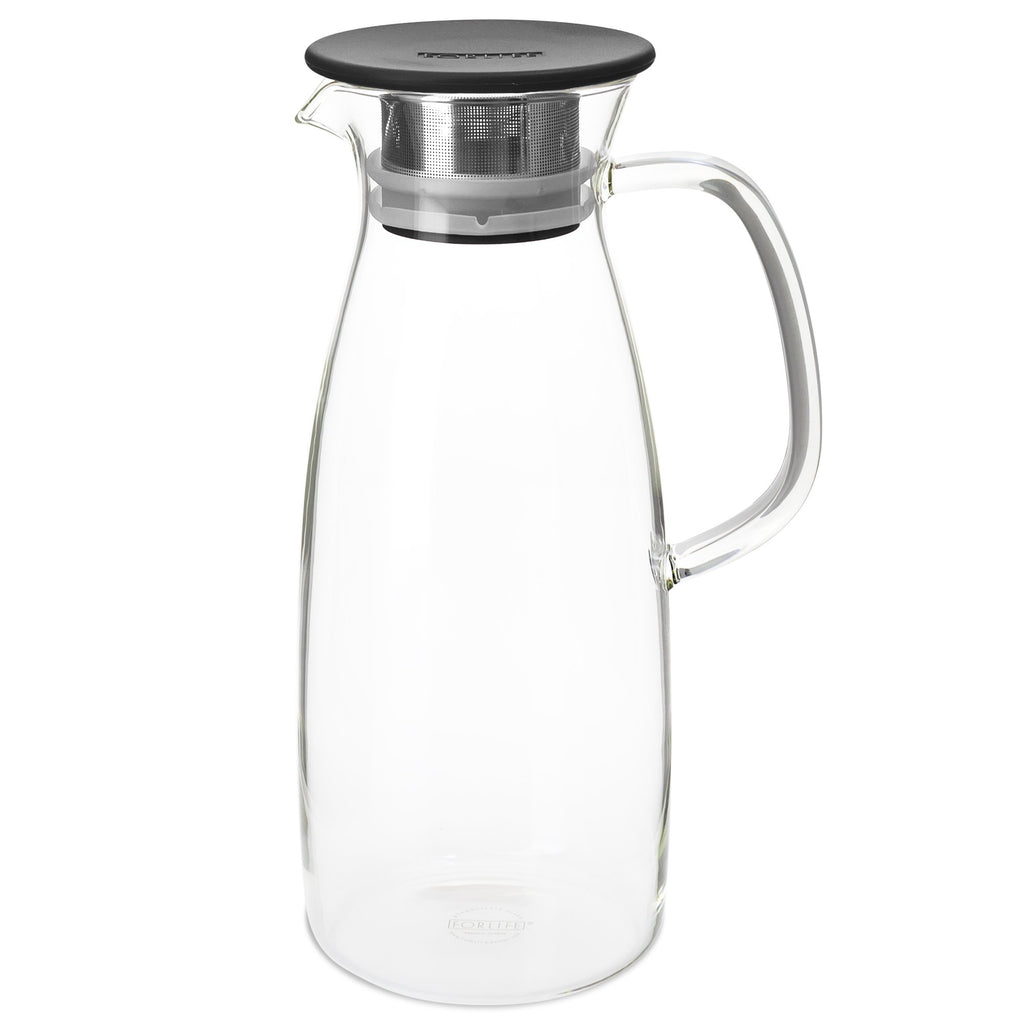 Mist Glass Ice Tea Jug for Cold-Brew 50oz - Black - Walters Bay