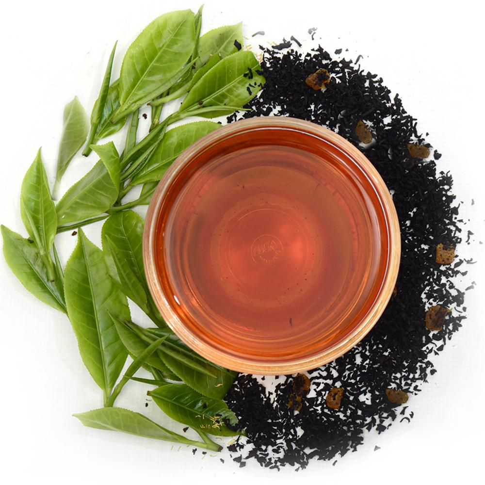Peach Apricot Ceylon Black Tea Full Leaf Tea Loose Leaf Combo