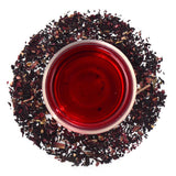 Raspberry Hibiscus Herbal Infusion Full Leaf Tea Loose Leaf - Walters Bay