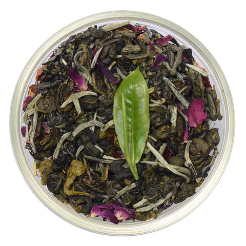 Rose Blossom Ceylon White Tea Full Leaf Tea Loose Leaf Tea
