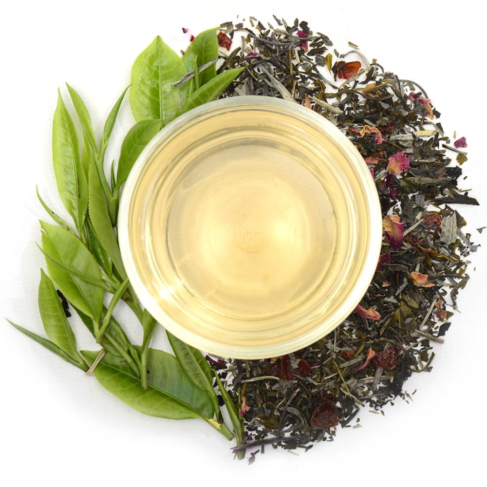 Rose Blossom Ceylon White Tea Full Leaf Tea Loose Leaf - Walters Bay