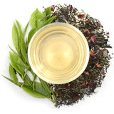 Rose Blossom Ceylon White Tea Full Leaf Tea Bags in Canister - Walters Bay