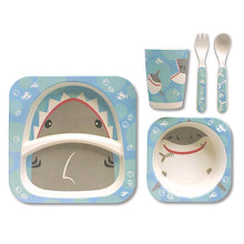 Bamboo Fiber Dining Set - Shark