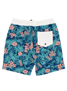 Wild Tropics Board / Walk Short in Navy