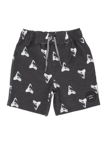 4yrs, 6yrs, 8yrs - Shark Tooth Boardshort
