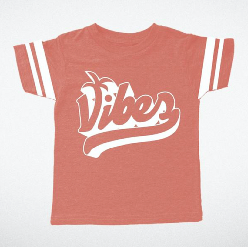 Vibes Tri Red Boys Tee
