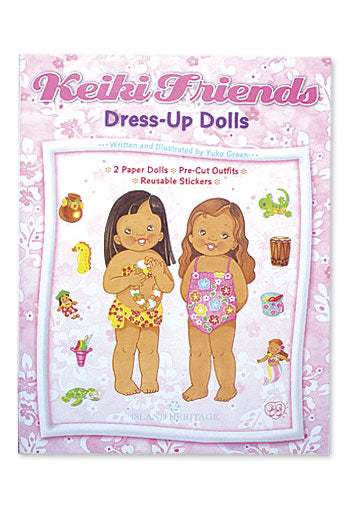 Keiki Friends Dress-Up Dolls Book