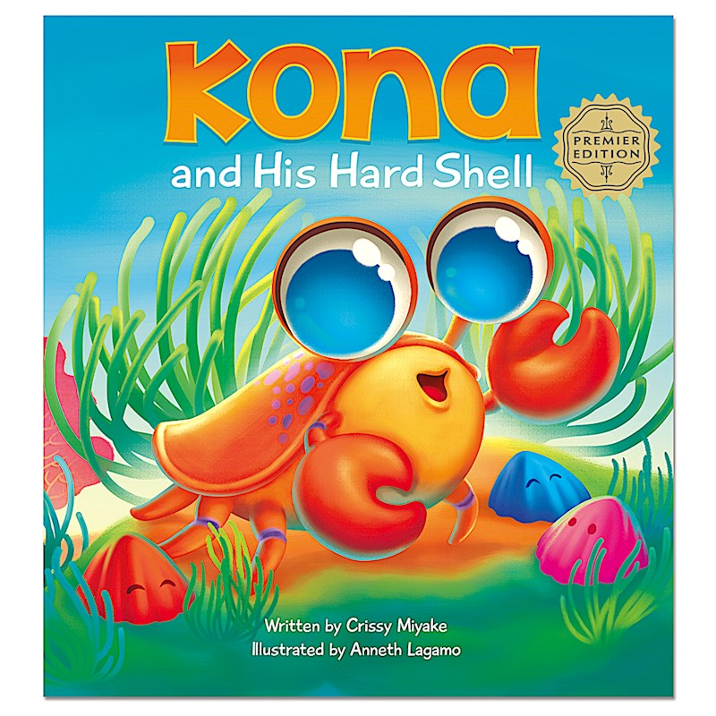 Kona and His Hard Shell Book