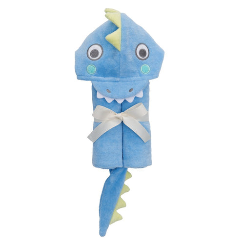 Blue Sea Serpent Hooded Baby Bath Wrap
