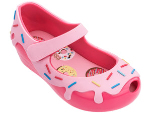 Pink Donut Sprinkles Jelly Shoes